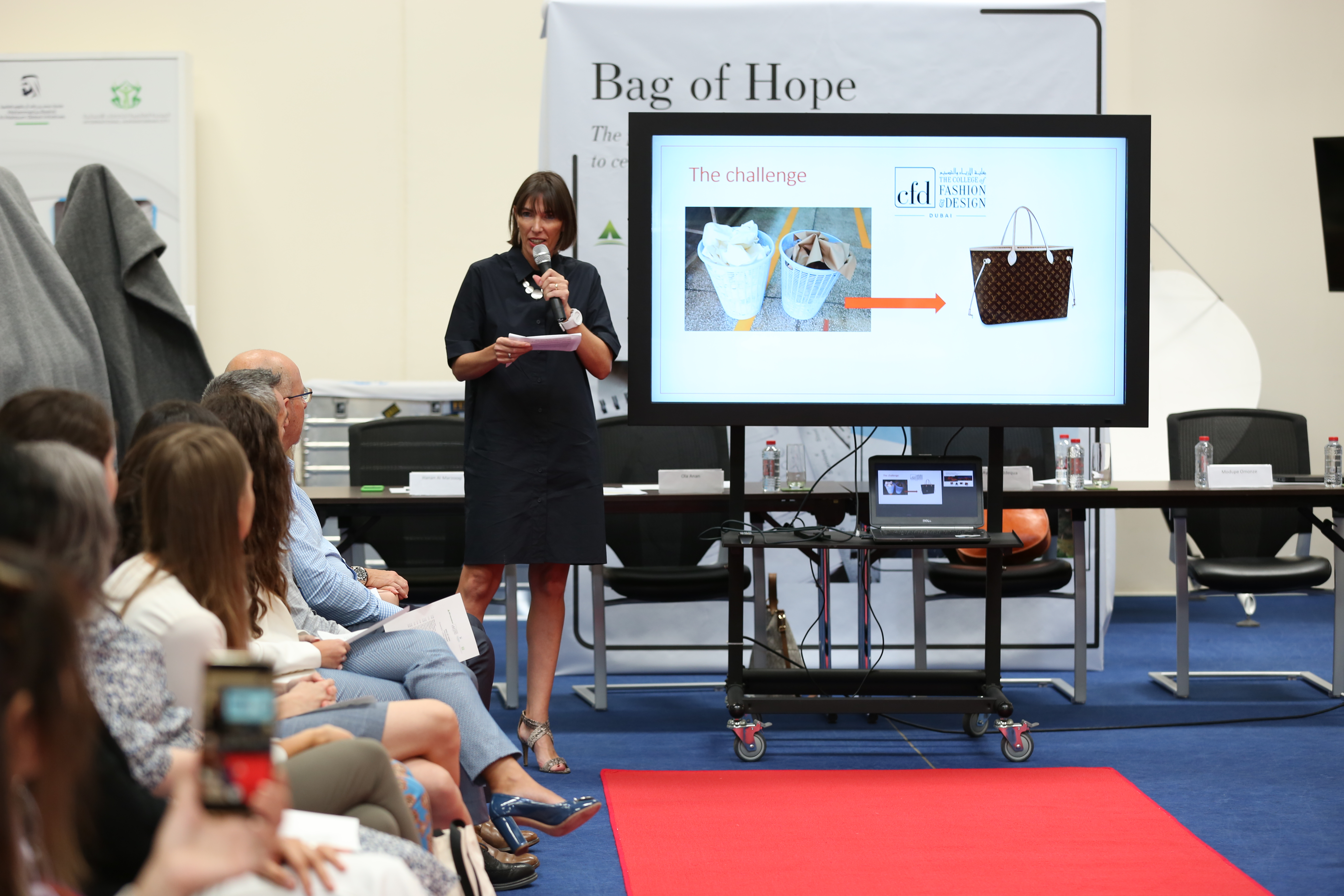 Bag Full Of Hope Cfd Student Design Competition On World Refugee Day مجلة دبي 24 Dxb Magazine