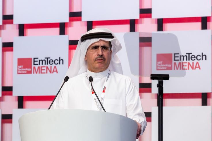 صور سعادة سعيد محمد الطاير في مؤتمر إيمتيك مينا ضمن أسبوع دبي للمستقبل (... (1)