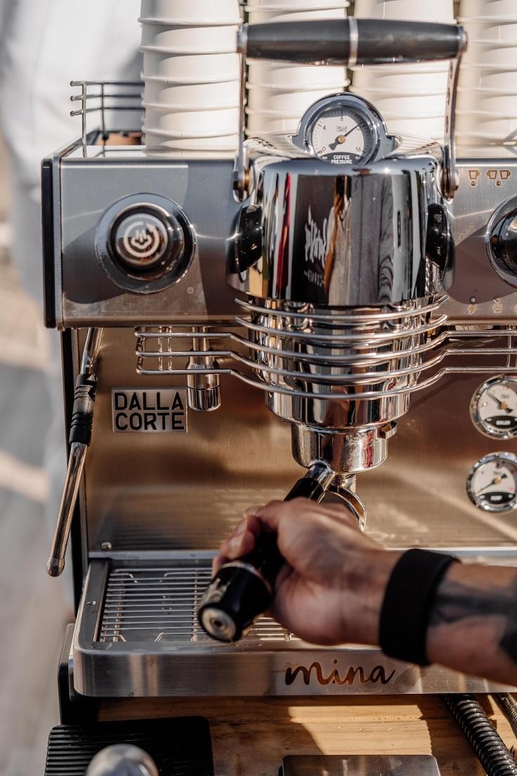 Dalla Corte Mina Coffee Machine