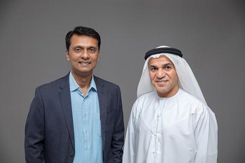 Ranjit Rajan and Dr Saeed K Al Dhaheri (Photo - AETOSWire)_1581919446
