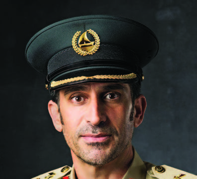 عبد الله خليفة المري، القائد العام لشرطة دبي