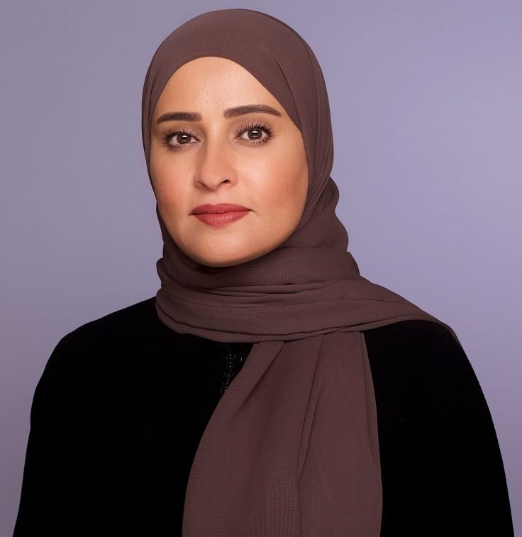 معالي عهود الرومي وزيرة الدولة للسعادة وجودة الحياة - الصورة الرسمية - H.E. Ohood Al Roumi Minister of State for Happiness and Wellbeing - official photo